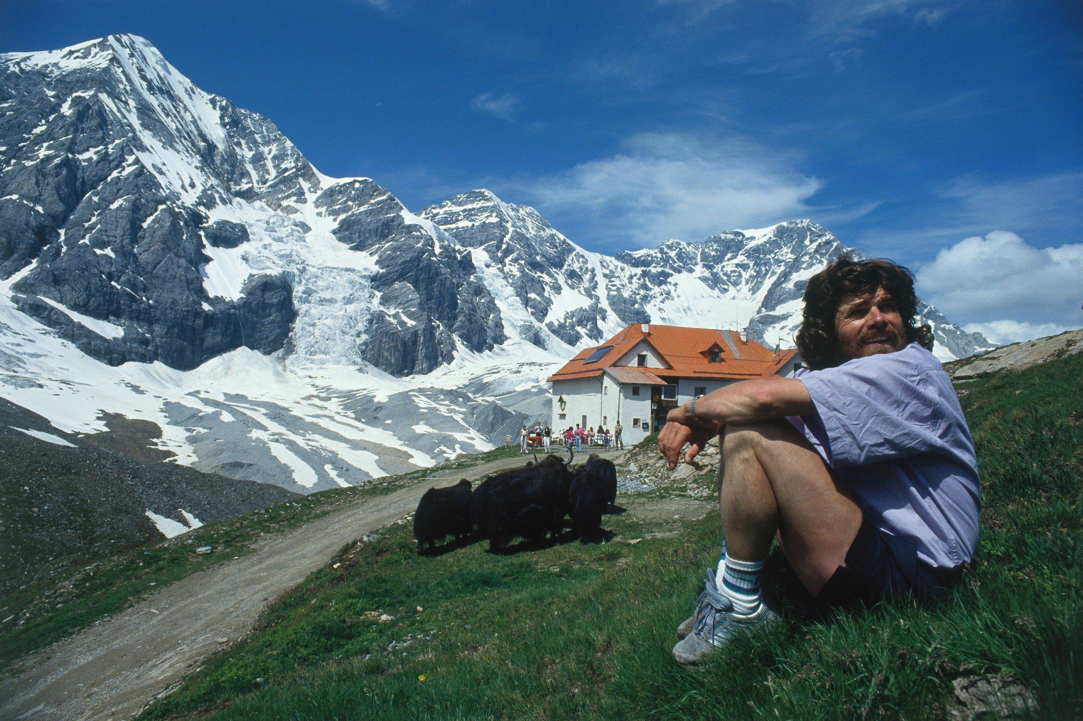 """Reinhold Messner: """"Življenje je nekaj vredno le, če ga zajemaš z veliko žlico."""""""
