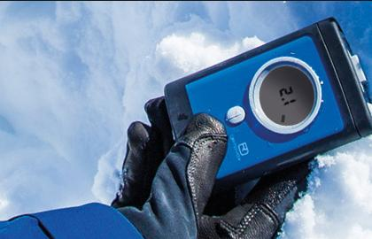 Preventivni odpoklic Ortovox lavinskih žoln 3+ z različico programske opreme 2.1
