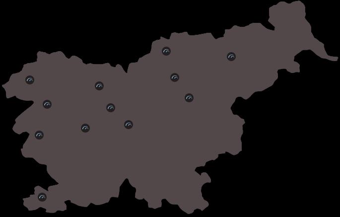zemljevid lokacij